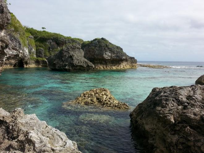 Limu Pools Niue holiday
