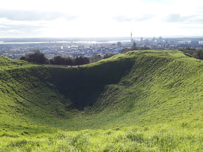 Mt Eden summit view