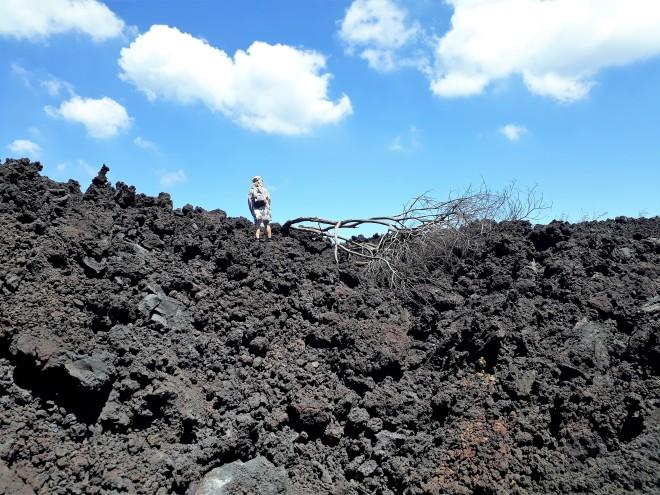 climbing lava